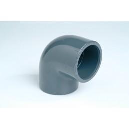 Coude PVC Pression 90° Diamètre 40 PN16 à coller