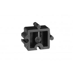 Bloc écarteur pour clips de fixation en diamètre 63
