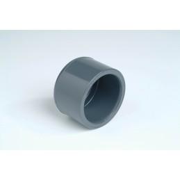 Bouchon PVC Pression Diamètre 50 PN16 Femelle à coller