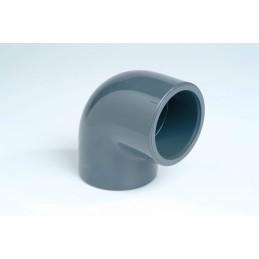 Coude PVC Pression 90° Diamètre 8 PN16 à coller