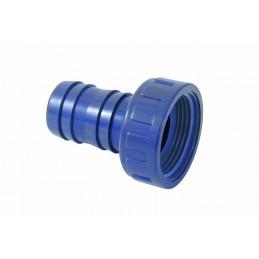 """Douille Cannelée PVC Pression Diamètre 16x3/4"""" Mixte Femelle à visser"""