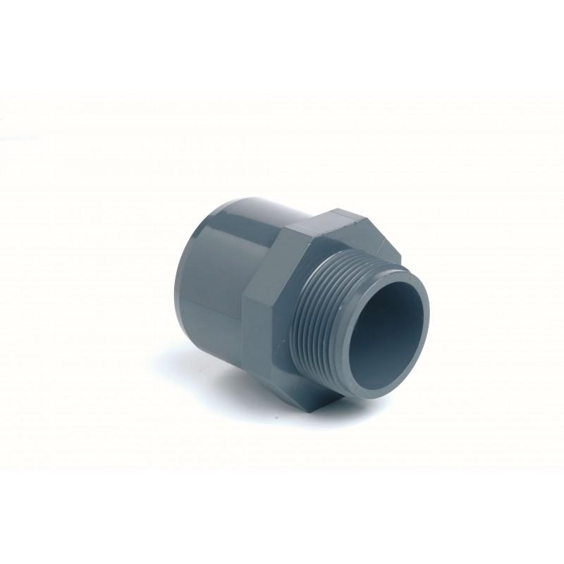 """Embout PVC Pression Diamètre 40/32x1""""1/4 F à coller M à visser"""