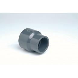 Réduction Double PVC Pression Diamètre 75/63x20 PN16 à coller