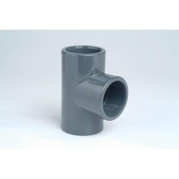 Té PVC Pression 90° Diamètre 12 PN16 à coller