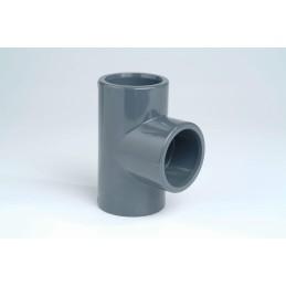 Té PVC Pression 90° Diamètre 25 PN16 à coller
