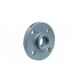 "Bride Fixe PVC Pression Diamètre 1""1/4 PN16 Taraudé"