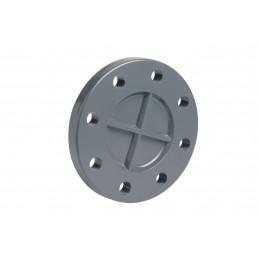 Bride Pleine PVC Pression Diamètre 140 DN125 PN16