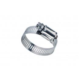 Collier de serrage à bande ⍉16/25 inox
